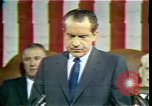 Image of President Richard Nixon Washington DC USA, 1970, second 12 stock footage video 65675057436