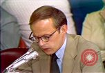 Image of John Dean's testimony Washington DC USA, 1973, second 1 stock footage video 65675057442