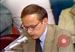 Image of John Dean's testimony Washington DC USA, 1973, second 2 stock footage video 65675057442