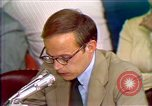 Image of John Dean's testimony Washington DC USA, 1973, second 3 stock footage video 65675057442