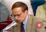 Image of John Dean's testimony Washington DC USA, 1973, second 6 stock footage video 65675057442