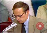Image of John Dean's testimony Washington DC USA, 1973, second 8 stock footage video 65675057442