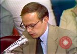 Image of John Dean's testimony Washington DC USA, 1973, second 10 stock footage video 65675057442