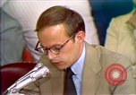 Image of John Dean's testimony Washington DC USA, 1973, second 11 stock footage video 65675057442