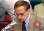 Image of John Dean's testimony Washington DC USA, 1973, second 5 stock footage video 65675057443