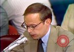 Image of John Dean's testimony Washington DC USA, 1973, second 8 stock footage video 65675057443