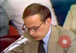 Image of John Dean's testimony Washington DC USA, 1973, second 12 stock footage video 65675057443
