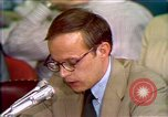 Image of John Dean testifies Washington DC USA, 1973, second 9 stock footage video 65675057445