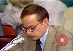 Image of John Dean testifies Washington DC USA, 1973, second 10 stock footage video 65675057445