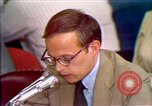 Image of John Dean testifies Washington DC USA, 1973, second 3 stock footage video 65675057448