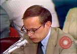 Image of John Dean testifies Washington DC USA, 1973, second 6 stock footage video 65675057449