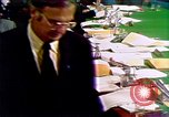 Image of John Dean's testimony Washington DC USA, 1973, second 7 stock footage video 65675057461