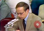 Image of Counsel John Dean's testimony Washington DC USA, 1973, second 2 stock footage video 65675057462