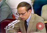 Image of Counsel John Dean's testimony Washington DC USA, 1973, second 3 stock footage video 65675057462