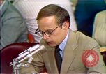 Image of Counsel John Dean's testimony Washington DC USA, 1973, second 4 stock footage video 65675057462