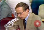 Image of Counsel John Dean's testimony Washington DC USA, 1973, second 6 stock footage video 65675057462