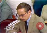 Image of Counsel John Dean's testimony Washington DC USA, 1973, second 7 stock footage video 65675057462