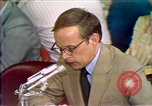 Image of Counsel John Dean's testimony Washington DC USA, 1973, second 8 stock footage video 65675057462