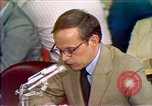 Image of Counsel John Dean's testimony Washington DC USA, 1973, second 10 stock footage video 65675057462