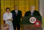 Image of President Gerald Ford's first speech Washington DC USA, 1974, second 3 stock footage video 65675057483
