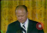 Image of President Gerald Ford's first speech Washington DC USA, 1974, second 10 stock footage video 65675057483