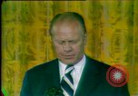Image of President Gerald Ford's first speech Washington DC USA, 1974, second 12 stock footage video 65675057483