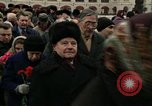 Image of Lenin Tomb Moscow Russia Soviet Union, 1972, second 7 stock footage video 65675057501