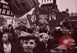 Image of Citizens parade Russia Soviet Union, 1937, second 9 stock footage video 65675057502