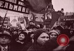 Image of Citizens parade Russia Soviet Union, 1937, second 10 stock footage video 65675057502