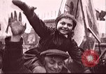 Image of Citizens parade Russia Soviet Union, 1937, second 12 stock footage video 65675057502