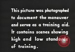 Image of IX Corps training center United States USA, 1943, second 12 stock footage video 65675057524