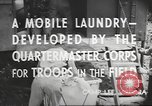 Image of mobile laundry Maryland United States USA, 1942, second 9 stock footage video 65675057536