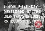Image of mobile laundry Maryland United States USA, 1942, second 10 stock footage video 65675057536