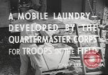 Image of mobile laundry Maryland United States USA, 1942, second 11 stock footage video 65675057536