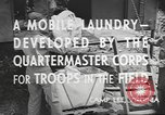 Image of mobile laundry Maryland United States USA, 1942, second 12 stock footage video 65675057536