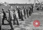 Image of Army Air Corps recruits in basic training Saint Petersburg Florida USA, 1942, second 8 stock footage video 65675057548