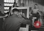 Image of occupational therapy for World War II mental casualties Brentwood New York USA, 1948, second 10 stock footage video 65675057588