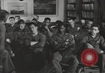 Image of group psychotherapy for World War II casualties Brentwood New York USA, 1948, second 1 stock footage video 65675057589