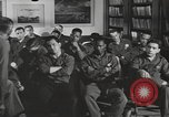 Image of group psychotherapy for World War II casualties Brentwood New York USA, 1948, second 3 stock footage video 65675057589