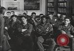 Image of group psychotherapy for World War II casualties Brentwood New York USA, 1948, second 7 stock footage video 65675057589