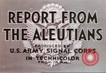 Image of Aleutian Islands Campaign Aleutian Islands Alaska USA, 1943, second 7 stock footage video 65675057596