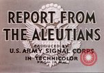 Image of Aleutian Islands Campaign Aleutian Islands Alaska USA, 1943, second 9 stock footage video 65675057596