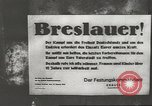 Image of German troops Breslau Poland, 1945, second 10 stock footage video 65675057619