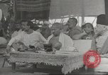Image of Mahatma Gandhi India, 1945, second 4 stock footage video 65675057623