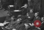 Image of Nuremberg Trials Germany, 1946, second 6 stock footage video 65675057624