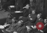 Image of Nuremberg Trials Germany, 1946, second 7 stock footage video 65675057624