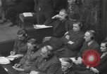 Image of Nuremberg Trials Germany, 1946, second 8 stock footage video 65675057624