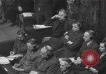 Image of Nuremberg Trials Germany, 1946, second 9 stock footage video 65675057624