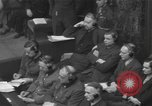 Image of Nuremberg Trials Germany, 1946, second 12 stock footage video 65675057624