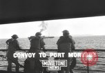 Image of bombing of Port Moresby by Japanese Port Moresby Papua New Guinea, 1942, second 8 stock footage video 65675057629